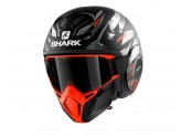 Jet Helmet Shark METRO STREET-DRAK KANHJI MAT Black Orange