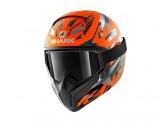 Full-Face Helmet Shark VANCORE 2 KANHJI HIVIS MAT Orange Anthracite