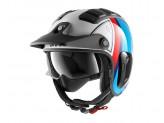 Jet Helmet Shark METRO X-DRAK 2 Terrence White Blue Red