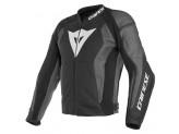 Perforated Leather Jacket Dainese Nexus Black Black Ebony