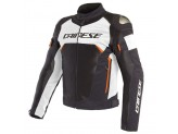 Waterproof Jacket Dainese Dinamica Air D-Dry Black White Fluo Red