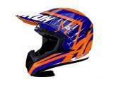 Helmet Full-Face Off-Road Airoh Switch Startruck Blue Gloss