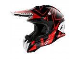 Helmet Full-Face Off-Road Airoh Terminator Open Vision Shock Red Gloss