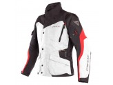 Waterproof Jacket Dainese Tempest 2 D-Dry Grey Black Red