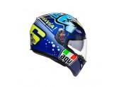 Helmet Full-Face Agv K-3 SV Rossi Misano 2015