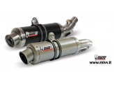 H.038.L2S - Silencer Exhaust Mivv GP Carbon Honda CB 600 Hornet 07>/CBR 600 F