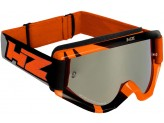 Goggles Off-Road HZ RAY Orange/Grey OTG Compatible