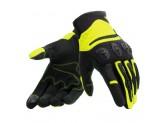 Motorcycle Gloves Dainese Aerox Unisex Black Fluo-Yellow