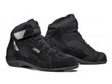 Leather Shoes Moto Touring Sidi Duna Gore-Tex Black Black