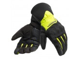 Motorcycle Gloves Dainese X-Tourer D-DRY Black Fluo-Yellow