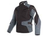 Motorcycle Jacket Man Dainese Gore-Tex Dolomiti Black Ebony Light Grey