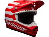 Helmet Bell Off-road Motocross Moto-9 Mips Fasthouse Signia Matt Red White