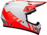 Helmet Bell Off-road Motocross Mx-9 Mips Dash Matt Grey Red Black