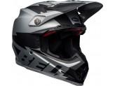 Helmet Bell Off-road Motocross Moto-9 Carbon Flex Breakaway Black Matt Gray