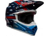 Helmet Bell Off-road Motocross Moto-9 Carbon Flex Mcgrath Replica Blue Red Black