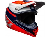 Helmet Bell Off-road Motocross Moto-9 Mips Prophecy Glossy Red Navy Blue Gray