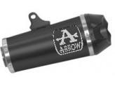 71920PKN - Exhaust Muffler Arrow Works Nichrom Dark Yamaha Tracer 700 (20-21)