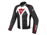 Jacket Dainese D-Dry  Hyper Flux  Waterproof Perforated White/Black/Red