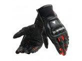Motorcycle Gloves Man Dainese Steel-Pro In Black Fluo-Red