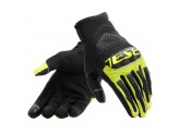 Motorcycle Gloves Dainese Bora Black Fluo-Yellow