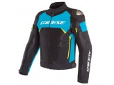 Waterproof Jacket Dainese Dinamica Air D-Dry Black Blue Fluo Yellow