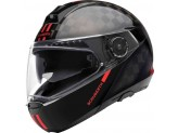 Helmet Full-face Flip-Up Schuberth C4 Pro Carbon Fusion Red Glossy