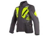 Motorcycle Jacket Man Dainese Gore-Tex Gran Turismo Black Yellow Fluo