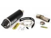 Kit Exhaust Arrow Muffler AKN + Mid Pipe Honda CBF 1000 - CBF 1000 ST 10/13