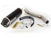 Kit Exhaust Arrow Muffler AKN + Mid Pipe Kawasaki Z 800 '13/14