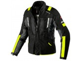 Jacket Moto Spidi H2OUT MODULAR Black Fluo-Yellow