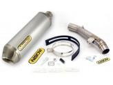 Kit Exhaust Arrow Muffler PO + Mid Pipe Kawasaki Z 750 '07/12 R '11/12