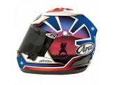 Helmet Full-Face Arai Rx-7 V Replica Pedrosa Blue Spirit