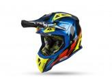 Helmet Full-Face Off-Road Airoh Aviator 2.3 AMS Great Blue Chrome