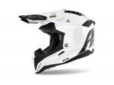 Helmet Full-Face Off-Road Airoh Aviator 3 Color White Gloss