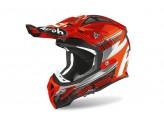 Helmet Full-Face Off-Road Airoh Aviator 2.3 Novak Orange Chrome