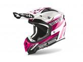 Helmet Full-Face Off-Road Airoh Aviator 2.3 Novak Pink Chrome