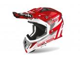 Helmet Full-Face Off-Road Airoh Aviator 2.3 Novak Red Chrome