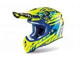Helmet Full-Face Off-Road Airoh Aviator 2.3 Replica Cairoli 2020 Chrome