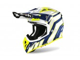 Helmet Full-Face Off-Road Airoh Aviator Ace Art Blue Gloss