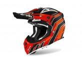 Helmet Full-Face Off-Road Airoh Aviator Ace Art Orange Gloss