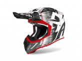 Helmet Full-Face Off-Road Airoh Aviator Ace Kybon Red Gloss
