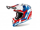 Helmet Full-Face Off-Road Airoh Aviator Ace Trick Blue Gloss