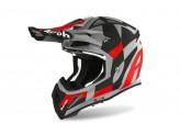 Helmet Full-Face Off-Road Airoh Aviator Ace Trick Red Matt