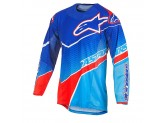 Jersey Alpinestars TECHSTAR VENOM Blue/Red