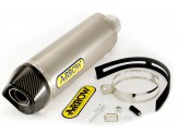 71779AK - SILENCER EXHAUST ARROW RACE-TECH ALLUM.CARB.CAP HONDA CBR 250 R '11>