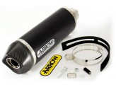 71779AKN - SILENCER EXHAUST ARROW RACE-TECH DARK CARB.CAP HONDA CBR 250 R '11>