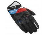 Motorcycle Gloves SPIDI FLASH-R EVO Black Red Blue