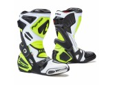 Leather Boots Racing Forma Ice Pro Flow White Black Yellow Fluo