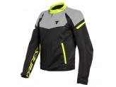 Jacket Dainese Bora Air Tex Black Magnesio-Matt Yellow Fluo