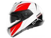 Helmet Full-face Flip-Up Schuberth C4 Pro Merak Glossy White
